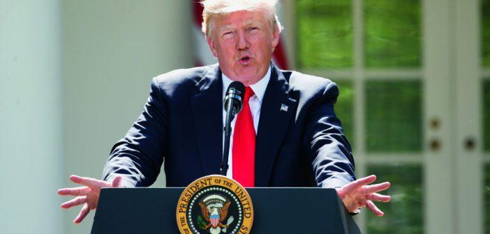 特朗普宣布美国退出《巴黎协定》