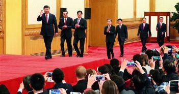 封面:新一届中央领导集体亮相