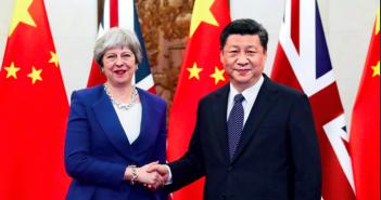 封面:英国首相特雷莎·梅访华