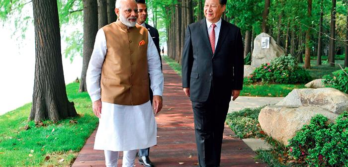 封三:习近平同印度总理莫迪在武汉举行非正式会晤