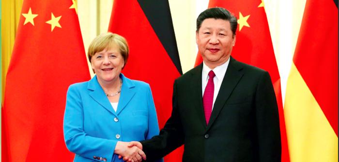 封面:德国总理默克尔第11次访华
