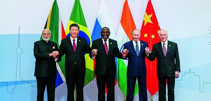封面:习近平访问中东非洲五国并出席第十次金砖国家峰会