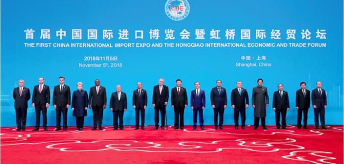 封三:首届中国国际进口博览会在上海举行 | 日本首相安倍晋三访华