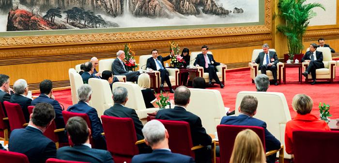 封二:李克强会见出席中国发展高层论坛2019年年会的境外代表并座谈| 韩正出席中国发展高层论坛2019年年会| 封三:中国发展高层论坛2019年年会剪影