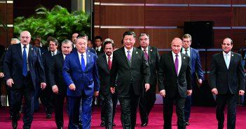 """封面、封二:第二届""""一带一路""""国际合作高峰论坛在北京举行"""