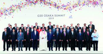 封二:习近平出席二十国集团领导人第十四次峰会 李克强在辽宁考察并出席2019年夏季达沃斯论坛