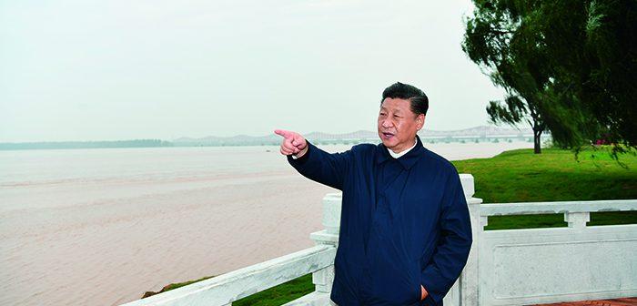 封面:习近平在河南考察