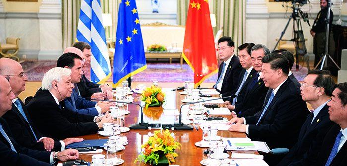 封二:习近平同希腊总统帕夫洛普洛斯会谈|法国总统马克龙访华