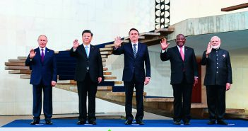 封面:习近平出席金砖国家领导人第十一次会晤并发表重要讲话