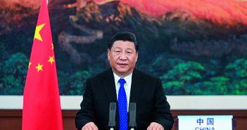 封面:习近平在第73届世界卫生大会视频会议开幕式上致辞