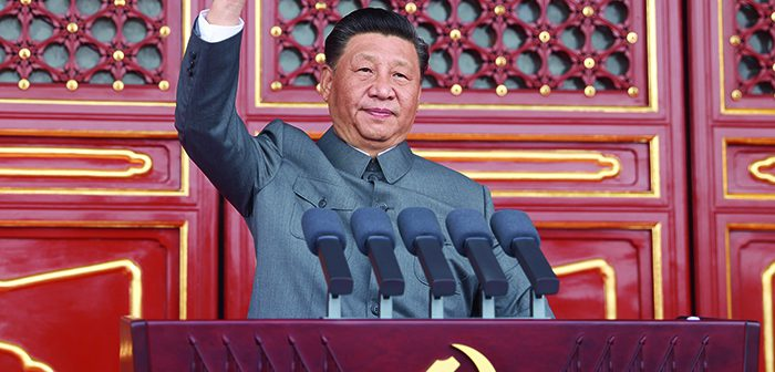 封面:庆祝中国共产党成立100周年大会在天安门广场隆重举行