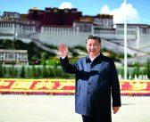 封面:习近平在西藏考察